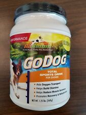 K9-Power GoDog Total Sports Drink Performance Formula for Dogs, 1.25-Pound