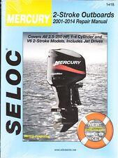 2001-2014 Mercury Outboard 2-Stroke 2.5-250 HP Seloc Repair Service Manual 675