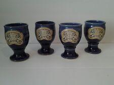 Set of 4 Michigan Renaissance Feast of Fantasy Goblets 2005