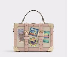 Aldo calini box bag Shoulder Bag with detachable shoulder chain NWT