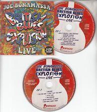 JOE BONAMASSA British Blues Explosion Live 2018 Dutch 14-track promo 2-CD