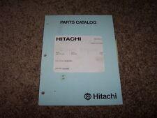 Hitachi S6R Y2TAA2 Engine Factory Original Parts Catalog Manual Manual 17300-