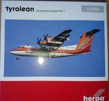 Herpa 559553 - 1/200 Tyrolean Airways De Havilland Canada DHC-7 - Neu