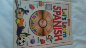 Lets learn Spanish book language kids paperback
