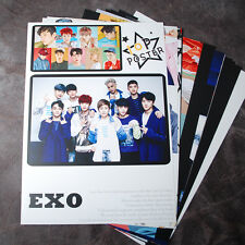 K-POP EXO XOXO EXO-K EXO-M 10Posters Collection Bromide (10PCS) A4 SIZE !!