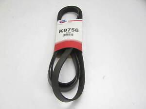 """Carquest K9756 Serpentine Belt - 0.84"""" X 97.50"""" - 6 Ribs"""