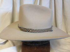 Vintage Resistol 10X Beaver The Cutter Mens Tan Fur Felt Western Hat - 7 1/2