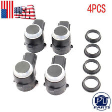 4 Pcs New Bumper Object Sensor Park Assist 1EW63TZZAA For Dodge Jeep Chrysler