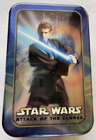 Star Wars AOTC Anakin Skywalker Topps Trading Cards 7 Packs of Cards & Foil Card