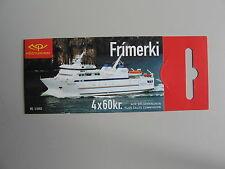 Verkeer/schepen, boekje/MH IJSLAND, 4x60KR, 2003, postfris/MNH