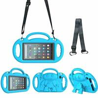 Surom Kids Case for All New Amazon Fire 7 2019/2017, Light Weight Shock Proof
