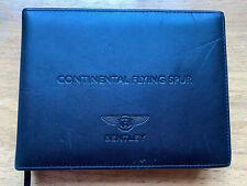 Bentley Continental Flying Spur Owners Handbook / Manual 06/2005 Print