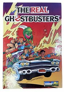 The Real Ghostbusters Annual 1988 / 1989 Hardcover Book Chad Valley