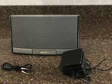 BOSE SOUNDDOCK PORTABLE DIGITAL MUSIC SYSTEM SPEAKER BLACK 043085972300941AE