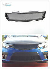 REAL Carbon Fiber Front Grill Grille mesh for 09-12 Kia Forte Koup SX 2-Door