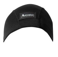 Aeroskin Polypropylene Swim Cap Black Small (H8)
