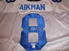 Troy Aikman Dallas Cowboys Signed Wilson Jersey PSA