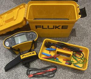 Fluke 1651 Electrical Tester 250 V 500 V 1000 V With UK Mains & Test Probe
