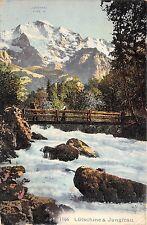 BR36266 Lutschine and Jungfrau      Switzerland