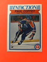 Paul Coffey In Action 1982-83 O-Pee-Chee NHL Hockey Card #102