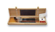 Da Vinci AQUARELL - MALPINSELSET Serie 5240 - Aquarellpinsel - Pinselschatulle