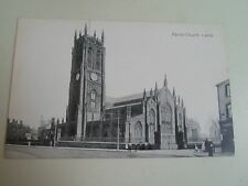 G96 #1   Nostalgic Old Postcard PARISH CHURCH LEEDS  76046 J.V.