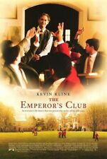 THE EMPEROR'S CLUB MOVIE POSTER 2 Sided ORIGINAL 27x40 KEVIN KLINE EMILE HIRSCH