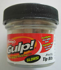 BERKLEY Gulp! Tip Bits - .81 oz. Jar - Glow    *CLEARANCE*