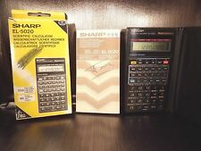 Calculatrice Scientifique calculator Scientific SHARP EL-5020 90's