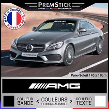 Sticker Pare Soleil Mercedes AMG - Autocollant Voiture, Stickers Rallye, ref1