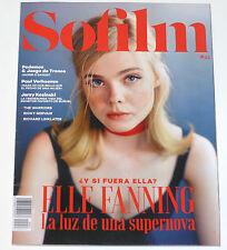 SOFILM #33 2016 Elle Fanning Juego de Tronos Paul Verhoeven Spain magazine