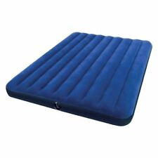 MATTRESS BED CLASSIC DOUBLE INFLATABLE FLOCKED INTEX 152X203X22