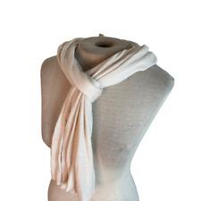 Soft Knit Cozy Scarf Wrap Cream