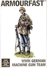 ARMOURFAST WW2 German Machine Gun Team 1/72 Scale Unpainted Figures (T0007)
