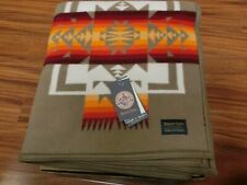 Pendleton Chief Joseph Blanket Robe Khaki 64x80 Made in USA!!