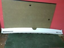 1998 - 2004 Cadillac Seville  STS upper trunk finish panel White Pearl Used OEM
