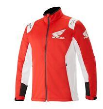 Alpinestars Honda Men's Softshell Jacket Wind Proof Breathable Waterproof