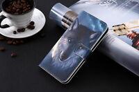 Funda flip libro piel sintetica estampado monedero Lenovo A8 A806 A808T A808