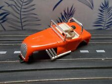 AURORA slot car HOT ROD ROADSTER in RED and MINT condition