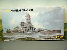 1/400 Kit Heller No. 81049 GERMAN HEAVY CRUISER ADMIRAL GRAF SPEE Open Box