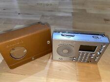 GRUNDIG YB-P 2000 Weltempfänger Radio Radiowecker Mit Lederhülle Neuwertig!