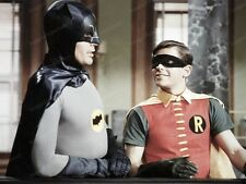 8x10 Print Adam West Burt Ward Batman 1968  #28376
