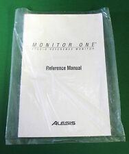 Original Alesis Monitor One Reference Manual - 1998