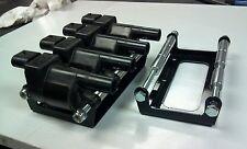 LS2 LS3 LS4 LS7 bolt on coil relocation bracket, powder coat black 12573190