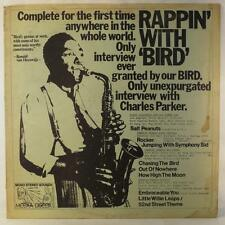CHARLIE PARKER Rappin' with Bird LP Meexa Discox 1776 Rare Interview/Music VG+