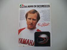 advertising Pubblicità 1983 CASCO AGV KR 2000 e KENNY ROBERTS