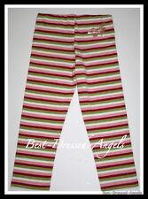 MISS SIXTY Crazy Stripes Capri Leggings Girls Size 10 Italy EURO Boutique  AK