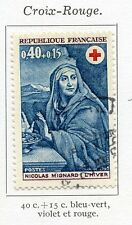 stamp / TIMBRE FRANCE OBLITERE N° 1620 CROIX ROUGE