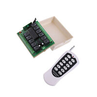 12V 12Channel Relay RF Switch 1000m Remote Control Transmitter + Receiver 315MHz