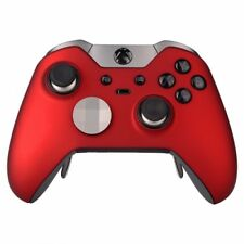 """Soft Touch Red"" CUSTOM Un-Modded Microsoft Xbox One Elite Wireless Controller"